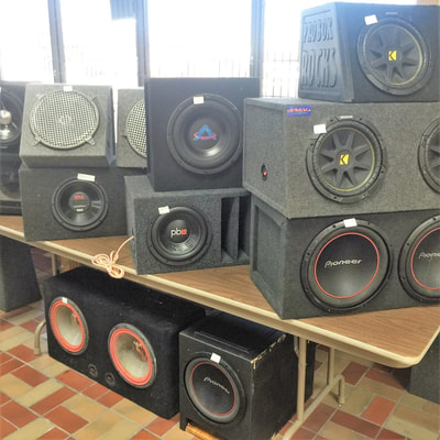 Speakers at City Pawn