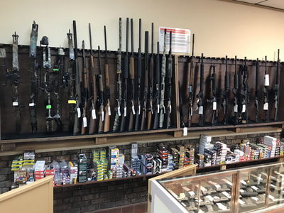 Guns at City Pawn